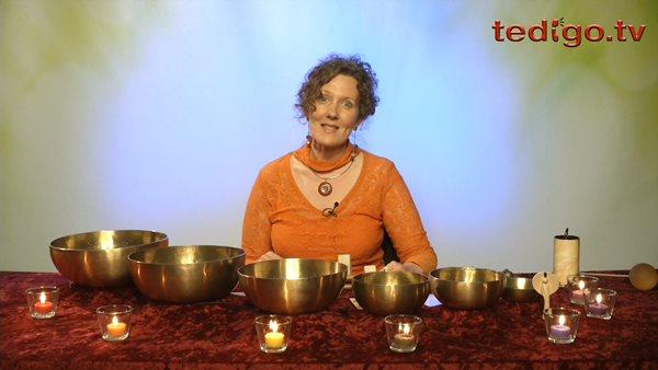 Klangschalen, Chakren und Meditation mit Artemis